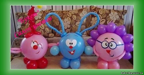 Воздушные шары как сделать животных